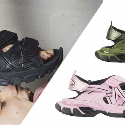 Balenciaga推巨帥Track Sandal老爹涼鞋,今夏就穿它來制霸街頭吧!