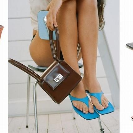 打破你對人字拖的印象!10款人字涼鞋推薦,跟鞋、綁帶設計超級時髦