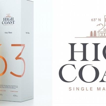 HIGH COAST瑞典高岸「63 高緯度紀念酒」6/3限量開賣!只生產一次的極限量威士忌,蘇打餅乾、奶油糖迷人風味