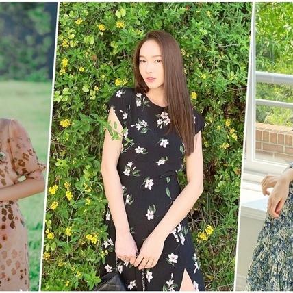 碎花怎麼穿才不顯老?孫藝珍、朴敏英、鄭秀妍為你示範最仙碎花洋裝穿搭