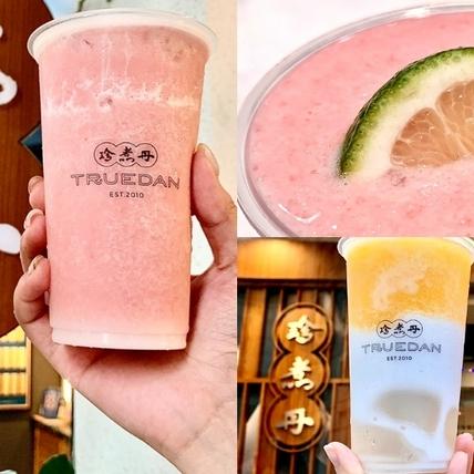手搖控夏日消暑必喝!珍煮丹首款水果雪沙「紅心芭樂、芒果椰奶」2款風味,酸甜沁涼好暢快