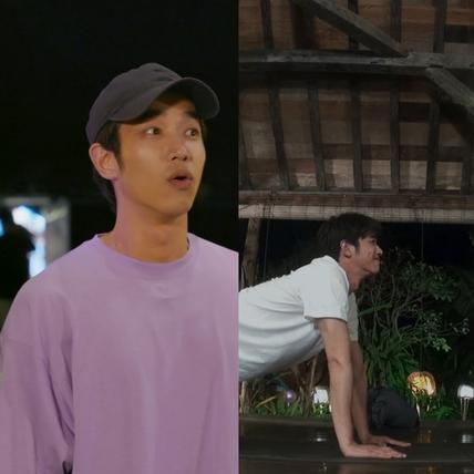 男神豪基情!劉以豪李昇基做雙人瑜伽拋偶包