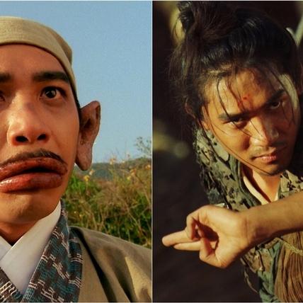 一下盲劍客一下香腸嘴! 梁朝偉《東成西就》、《東邪西毒》拍到「不知自己是誰」