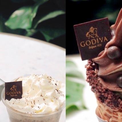 冰淇淋控必吃!GODIVA霜淇淋新口味「烏龍茶霜淇淋、烏龍茶黑巧克力」搭配限定飲品超對味