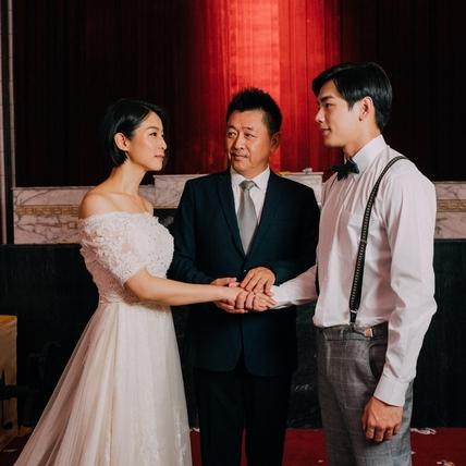 賴雅妍、禾浩辰婚紗照曝光! 庹宗華眼神流露不捨暗藏洋蔥