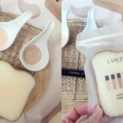 只送不賣德超萌「奶茶吐司」海綿,把刷具洗乾淨,上底妝就變更美麗!