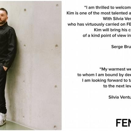 號外!FENDI宣布Kim Jones成為女裝藝術總監,並同時掌舵DIOR Men