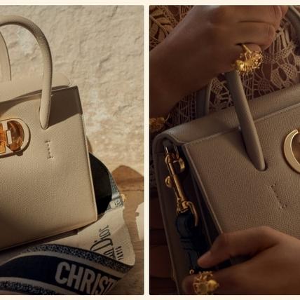 絕對是下個爆款包!DIOR 全新 Dior St Honoré 托特包絕美登場