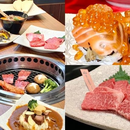和牛燒肉吃到飽!日本人氣「上村牧場」在北車微風,鴨肝、松葉蟹、鰻魚「特級列車」直送上桌