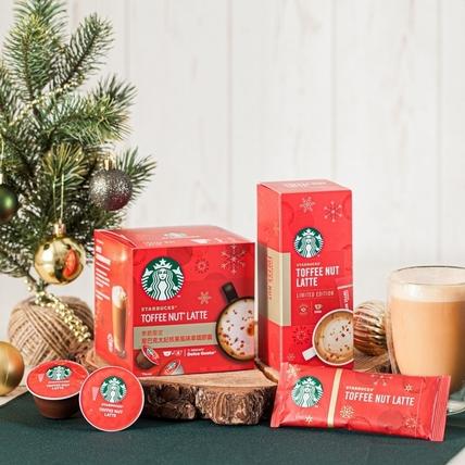 「太妃核果拿鐵」在家就能喝!星巴克X雀巢「Starbucks at Home」咖啡耶誕系列暖心登場