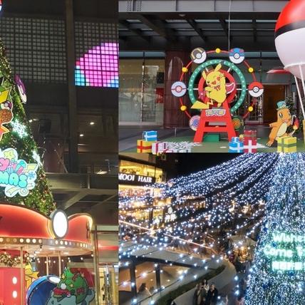 2020寶可夢超夯聖誕打卡點!新光三越北中南4大必拍景點整理「巨型皮卡丘、精靈球摩天輪、2D白色耶誕場景」萌力爆發