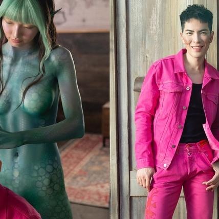 蕭敬騰談外星戀曲欽點女孩是她!彩繪裸身上陣共跳「星球舞」超萌