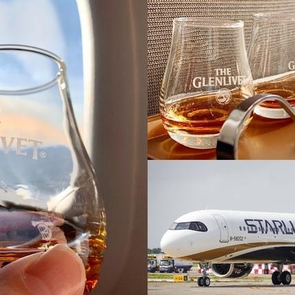 三千英呎高空品飲威士忌!格蘭利威X星宇航空首創「高空威士忌品酒會」全新13年雪莉桶原酒獨獻台灣