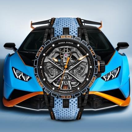 羅杰杜彼Excalibur Huracán STO 最強「小牛」變身頂級腕錶