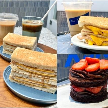台北質感咖啡廳「THE NORMAL」攜手真芳、東京巴黎甜點推出限定甜鹹食!「厚雞堅果吐司、國王巧克力」4款期間販售要把握