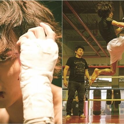 「日本最強鮮肉」橫濱流星增重10公斤!《想見你的愛》秀壯肌祭「超強高踢腿」