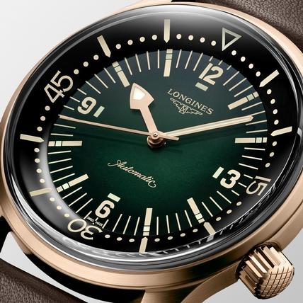 迷人青銅!浪琴表復刻傳奇潛水錶Legend Diver推出青銅新作