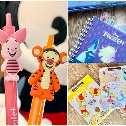 「迪士尼文具旗艦店」蝦皮開張!「維尼造型原子筆、冰雪奇緣文具組」超欠買,滿額贈可愛餐具包、角色口罩套