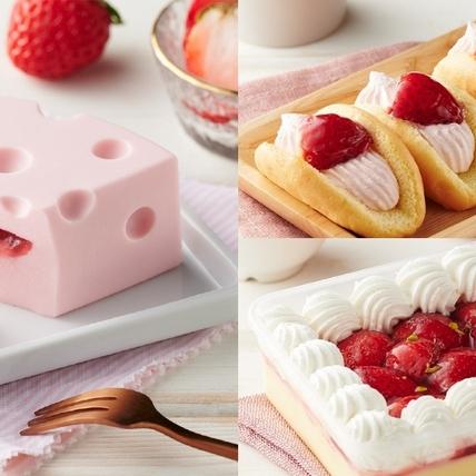 全聯草莓季終於等到了!「一塊草莓乳酪蛋糕、草莓布蕾、草莓起士塔」5大新品推薦,加碼吳寶春聯名草莓麵包