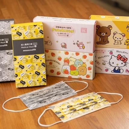 準備開搶!7-11新推出6款超萌醫療口罩Hello Kitty、卡娜赫拉、角落小夥伴絕對必收