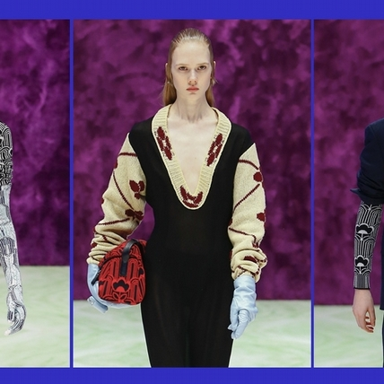 PRADA 2021秋冬女裝系列時裝秀 感官可能第二篇章:演變