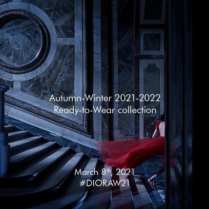 DIOR 大秀零時差直播!2021 秋冬時裝3月8日晚間9點30分線上發表