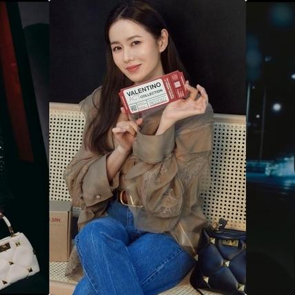 孫藝珍演繹VALENTINO全新廣告美暈!鉚釘、短裙霸氣又性感,果然戀愛中的女人最美麗