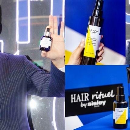 有著「男神隊長」封號的胡宇威,一頭豐盈的秀髮讓他帥氣爆表,靠的就是Hair Rituel by Sisley守住頭皮的輪廓線
