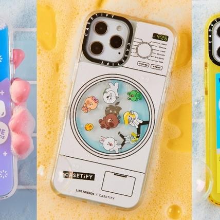 熊大、兔兔都變身成洗衣精、清潔噴劑!CASETiFY聯名手機殼系列再出招,LINE FRIENDS+粉嫩感春夏必買