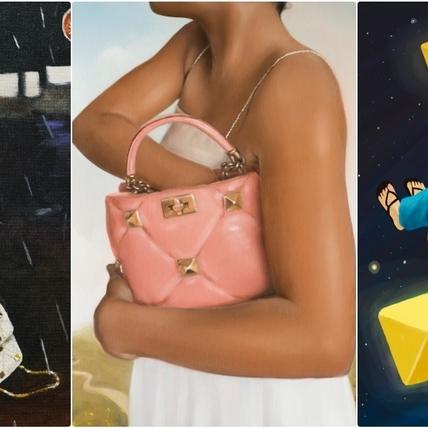 每一幅都超有特色!VALENTINO與5位藝術家詮釋創意之作,邀你走進畫中夢想世界