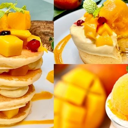 2021芒果人氣甜點推薦!「芒果奶霜厚鬆餅、芒果聖代」爆量級芒果超滿足,芒果控不吃會後悔