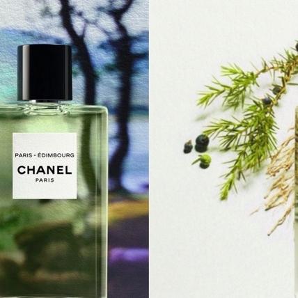 中性香香奈兒之水系列深受男生女生喜歡,全新「巴黎─愛丁堡淡香水」清新中帶著沉穩木香,就像身處森林深處滿身芳香啊