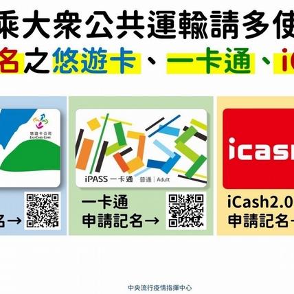 悠遊卡、一卡通實名制、台北通APP必下載!幫助疫調、遵守防疫就靠大家了