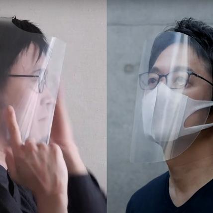 買不到防護面罩就自己動手做!日本設計師吉岡德仁、太刀川英輔0失敗自製面罩大公開!
