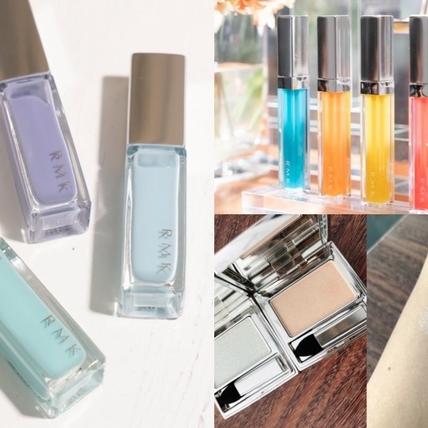 RMK限定夏妝真的好夏天,冰晶水感的霓彩唇蜜、不同色調的藍色指彩,還有一次推出霧感水感兩款護唇膏