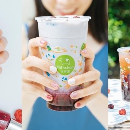 大療癒!『OPI x 迷客夏』 夏季桑葚莓果季特調指彩,WFH也能享受指尖上的色彩樂趣!