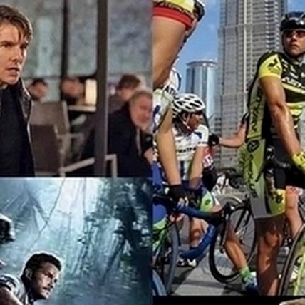 暑期強片全攻略 阿湯哥空中玩命尬彭于晏飆騎單車