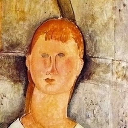 眼眸中的靈魂 莫迪里亞尼