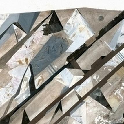 達姆〈Altiplano 1〉,100x140cm,複合媒材。