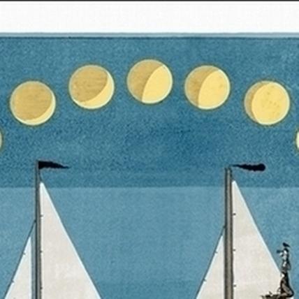 鄒駿昇〈post-adventure〉(後探險時代),90x90cm,複合媒材