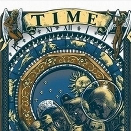 Blue藍聖傑〈時間〉,100x140cm,電腦繪圖。