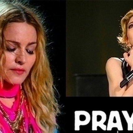 只有愛才能真的改變世界!瑪丹娜演唱會上落淚為巴黎祈福