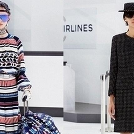 2016春夏巴黎時裝周:歡迎搭乘香奈兒航空