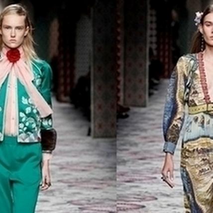 2016春夏米蘭時裝周:Gucci玩轉華麗刺繡