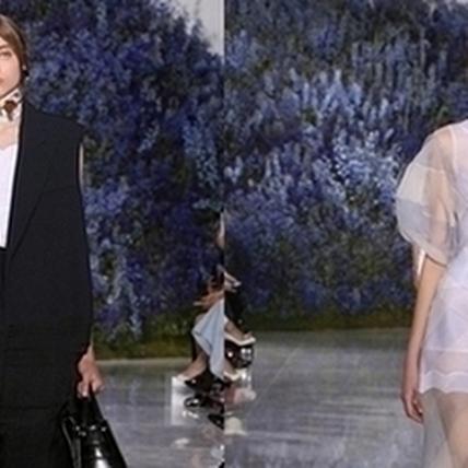2016春夏巴黎時裝周:Dior打造淡雅之美