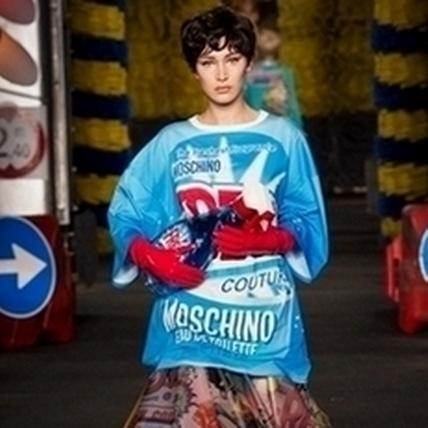 2016春夏米蘭時裝周:Moschino春夏很會玩