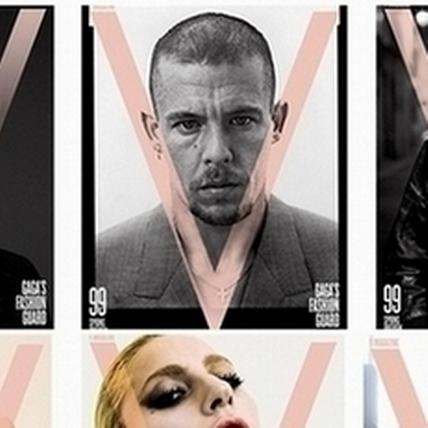 女神卡卡化身時尚客座編輯  《V》雜誌霸氣推出十六款封面