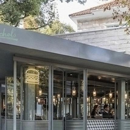 新復古空間!視野通透的漢堡餐廳