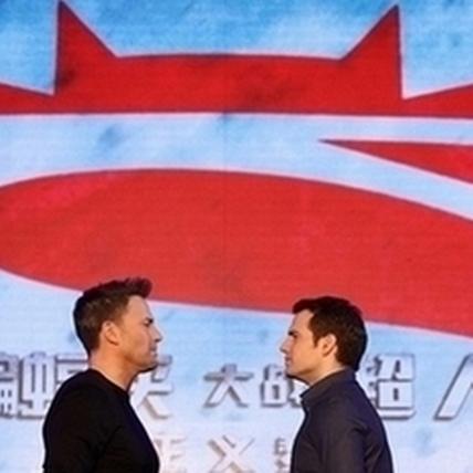 超級英雄也要賺人民幣 休傑克曼唱中文歌 李奧納多秀毛筆字