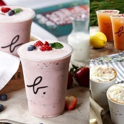 層次豐富的美好滋味,b. YOURSELF CAFE 夏季飲品新上市